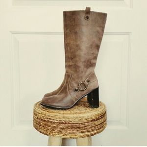 Anthropologie Taryn rose western boho boot
